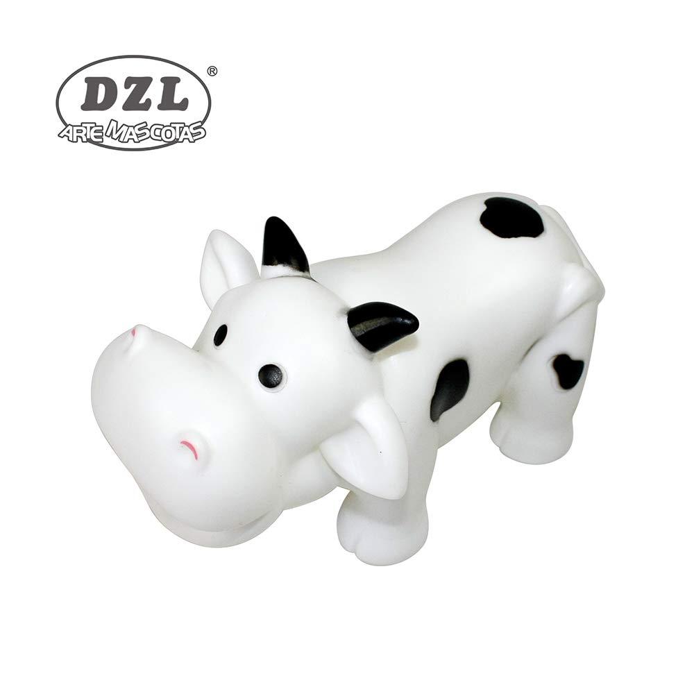 Juguete para Perro en Forma de Vaca (Blanco)