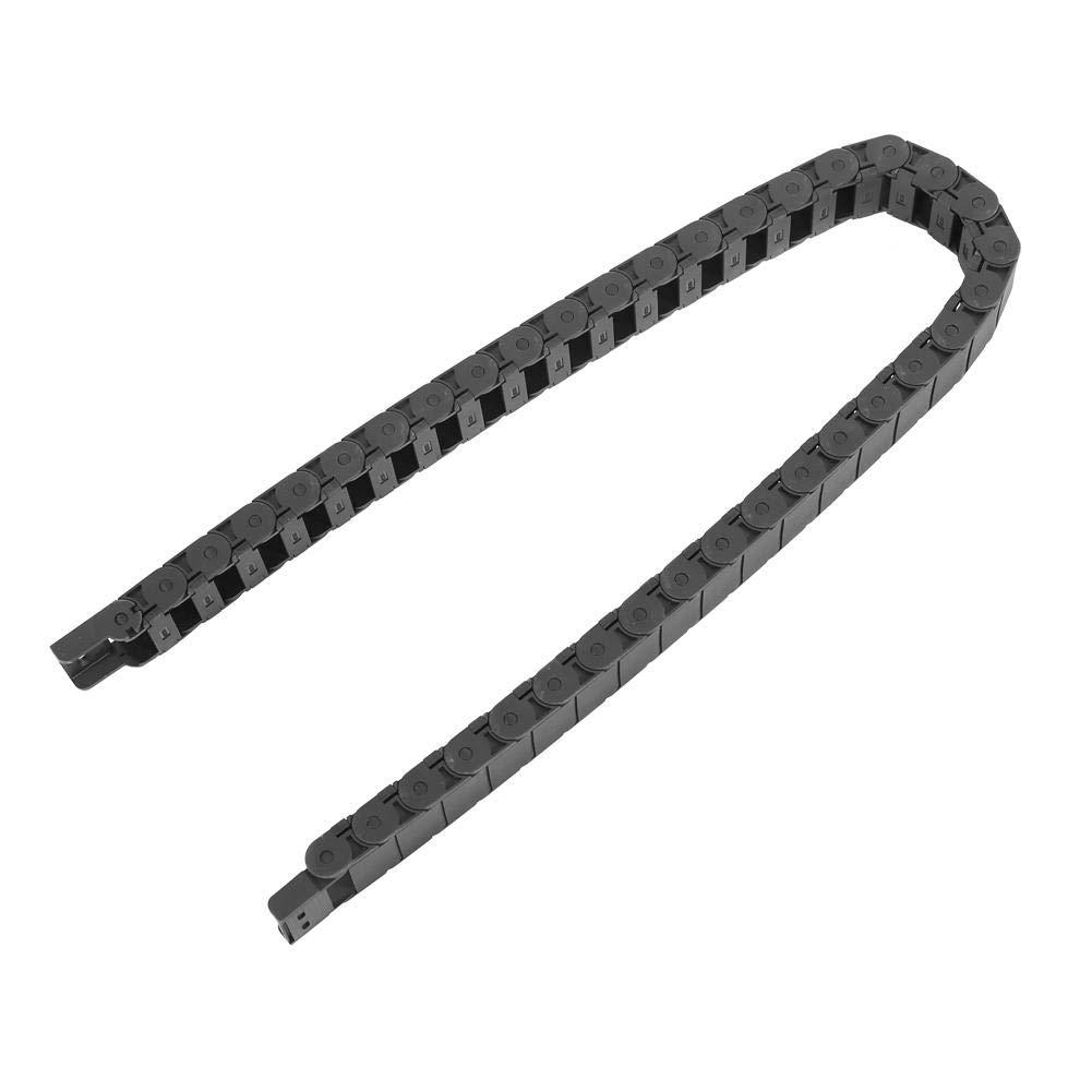 1 Meter Nylondraht-Kabeltr/äger Drag Chain Graviermaschine Zubeh/ör 15mm x 30mm Kabeltr/äger