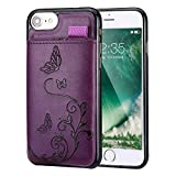 iPhone 8/iPhone 7 Wallet Leather Case for