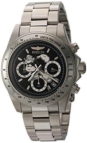 Men's 'Character Collection' Quartz Stainless Steel Casual Watch, Color:Silver-Toned (Model: ) - Invicta 24482