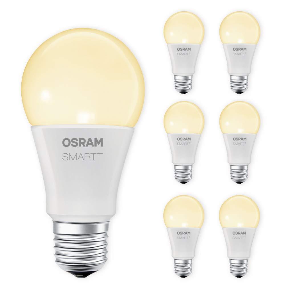 OSRAM SMART+ LED E27 8,5W 60W 2700K warmweiß ZigBee Lightify Alexa kompatibel Auswahl 7er Set