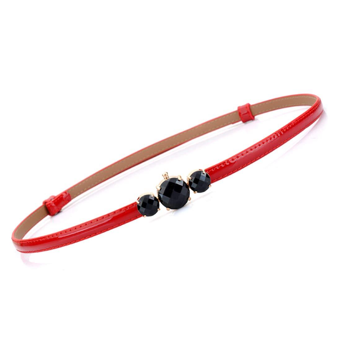 Fulision Women dress waist chain adjustable woman dress belt