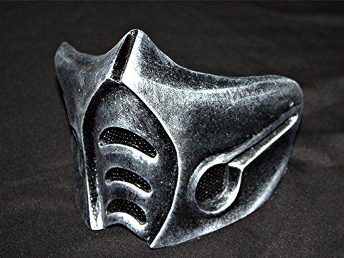 1:1 Wearable Custom Halloween Costume Prop Cosplay BB Gun Airsoft Mask Sub Zero MA142