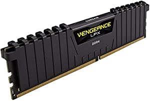 CORSAIR Vengeance LPX 128GB (4x32GB) DDR4 2666 (PC4-21300) C16 1.2V Desktop Memory - Black