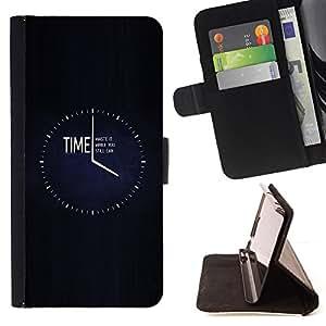 - clock black minimalist busy/ Personalizada del estilo del dise???¡¯???¡Ào de la PU Caso de encargo del cuero del tir???¡¯????n del s - Cao - For HTC Des