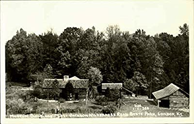 Museum Buildings, Levi Jackson Wilderness Road State Park London, Kentucky Original Vintage Postcard