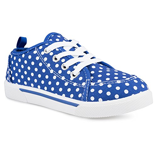 Chillipop Fashion Canvas Sneakers for Girls & Toddlers with Cute Patterns,Navy-8,11 M US Little Kid