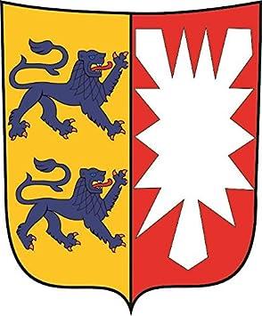U24 Aufkleber Schleswig Holstein Wappen Autoaufkleber Sticker