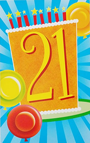 Happy 21st Birthday to Amazing YOU! Greeting Card - 21 Years Old (Funny Birthday Wishes For 21 Year Old)