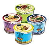 #5: One Culture Foods Bone Broth Instant Cup Noodles, Variety - Natural - Non-GMO (Pack of 8)