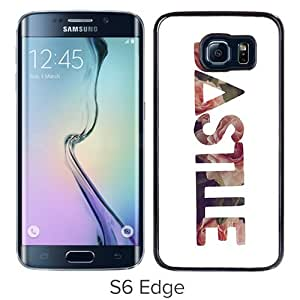 High Quality Samsung Galaxy S6 Edge Case ,Bastille Floral Rose Logo Samsung S6 Edge Cover Unique And Fashion Designed Phone Case