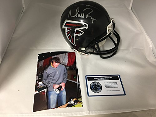 Matt Ryan Autographed Signed Atlanta Falcons Mini Helmet With Custom Game Model Decals W/Photo Of Signing Certified COA & (Atlanta Falcons Mini Helmet)