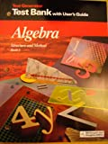 img - for ALGEBRA - STRUCTURE AND METHOD BOOK 1 (TEST GENERATOR TEST BANK WITH USER'S GUIDE) book / textbook / text book