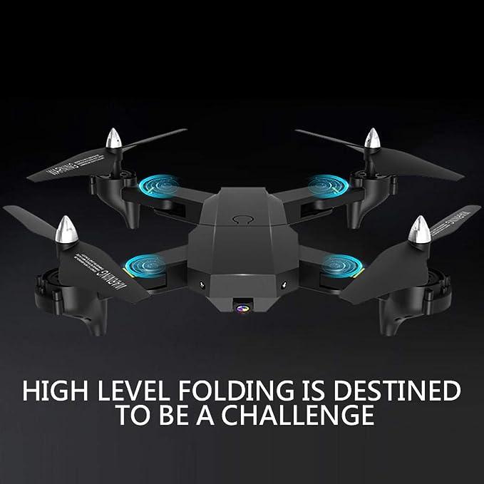 Bicaquu Control Remoto Drones Cámara WiFi 15 Minutos Tiempo de ...