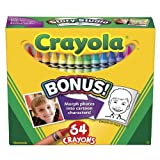 Crayola crayons, 64 Count (52-0064) Case of 48 packs