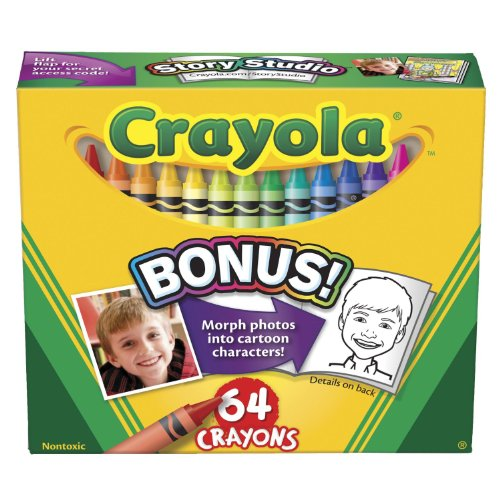 Crayola crayons, 64 Count (52-0064) Case of 48 packs -