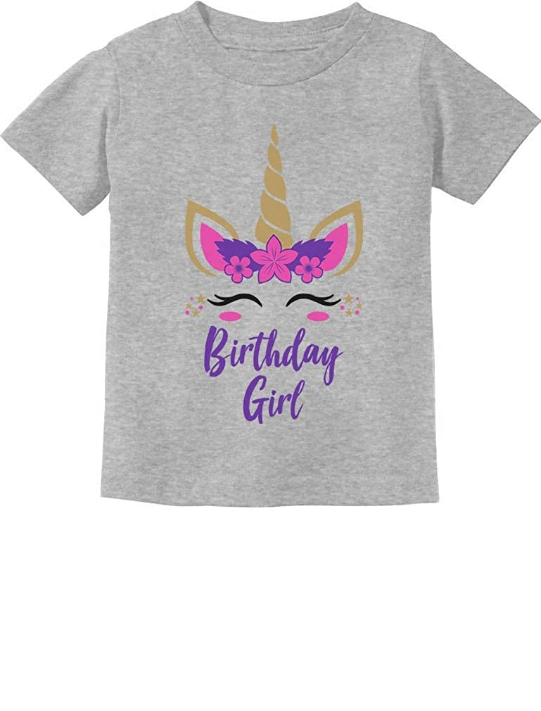 Birthday Girl Unicorn Outfit Gifts for Baby Girls Infant Kids T-Shirt