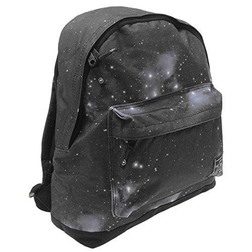 Hot Tuna Galaxy mochila negro/blanco bolso de hombro mochila bolsa, negro/blanco, H: 39cm; W: 33cm; D: 15cm.