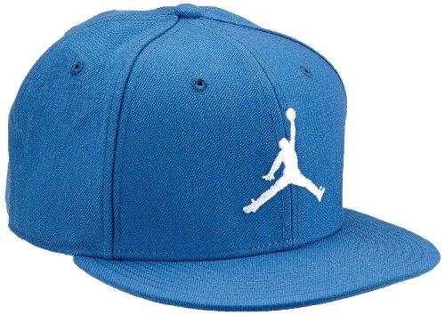 casquette blanc Bleu Bleu jumpman fitted jordan Nike BHqU0
