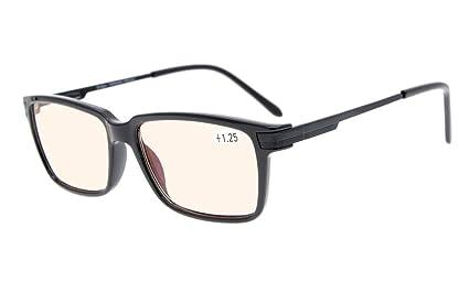 Eyekepper I lettori di qualità Primavera-cerniere occhiali da lettura Black +1.25 4Zv66h