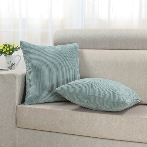 Calitime Cushion Covers Throw Pillow Cases Shells For