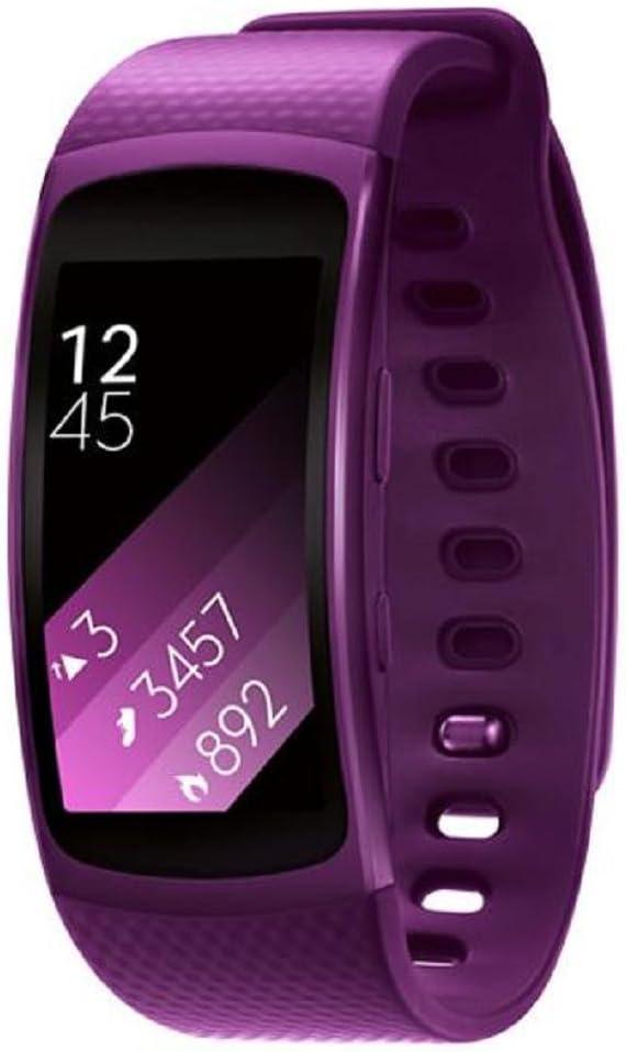 Sannysis Correas de Reloj de silicón para Samsung Gear Fit 2 SM ...