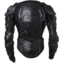 Motorbike Motorcycle Protective Body Armour Armor Jacket Guard Motorcross Racing Clothing Bike Bicycle Cycling Riding Biker Motocross Gear Black ( Size L ) For 2006 2007 2008 Ducati S4RS