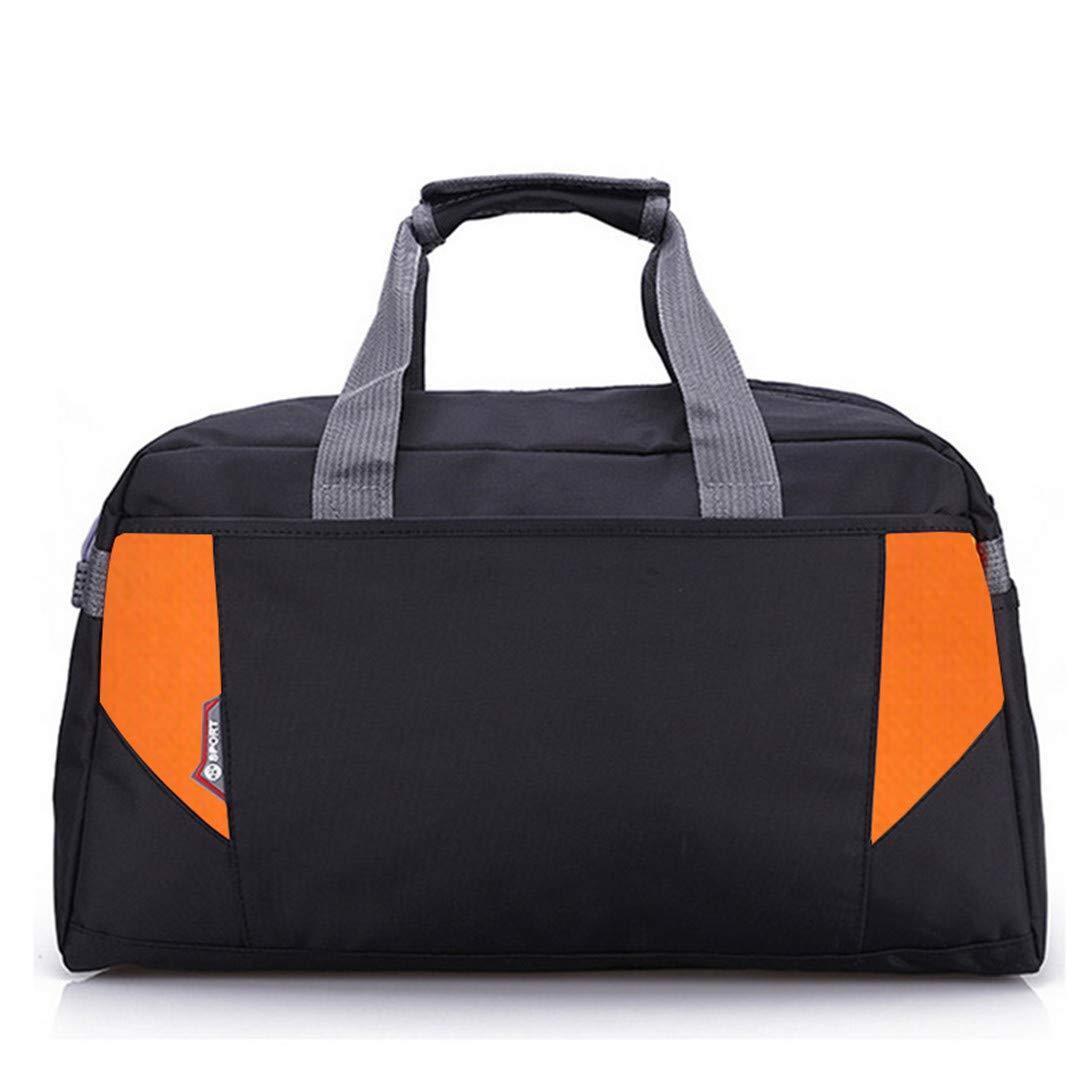 d075826fd2 Amazon.com  KHDRVJ Hot Nylon Sport Gym Bag Outdoor Waterproof Women H Bag  School Fitness Bag for Men Training Camping Female Yoga Duffel Bag 1  Sports    ...