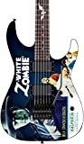 ESP LTD Kirk Hammett Signature White Zombie Graphic Electric Guitar