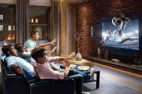 TV Antenna-[2020 Latest] Mini Fashion Indoor TV Antenna, Long 120 Miles Range, Powerful HDTV Amplifer Singal Booster, Premium Coax Cable, Support 4K 1080 Fire TV Stick and All TV