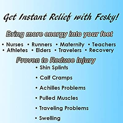 Fesky Athletic Compression Socks Women Men Nursing Athletic Medical Socks 20-30 mmHg