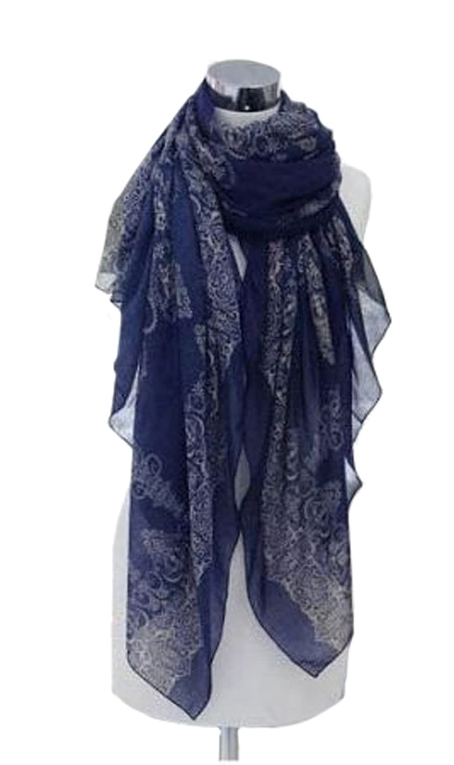 Fashion Women's Long Voile Cotton Scarf Wrap Ladies Shawl Girls Large Scarves
