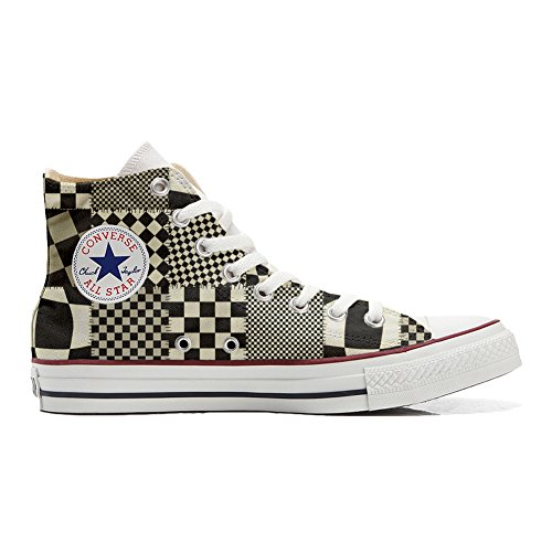 Unisex Converse Customized Pachtwork Zapatos Star producto All Texture Personalizadas IIxr4ZwTq