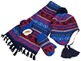N'Ice Caps Little Boys And Infants Sherpa Lined Geo Print Knitted Set