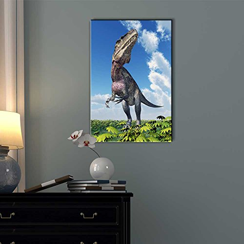 Dinosaur Acrocanthosaurus for a Boys Bedroom Wall Decor