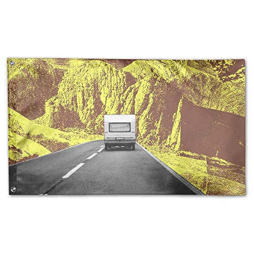 Colby Keats Driving Vehicles Garden Lawn Flags Indoor Outdoor Decoration Home Banner Polyester Sports Fan Flags 3 X 5 Foot -