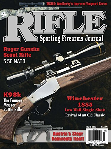 Rifle Magazine - March 2015 - Issue number 279