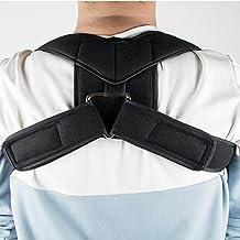 Genmine Medium Posture Shoulder Clavicle Corrector Support Brace Hunched Back and Rounded Shoulders Solution Black,