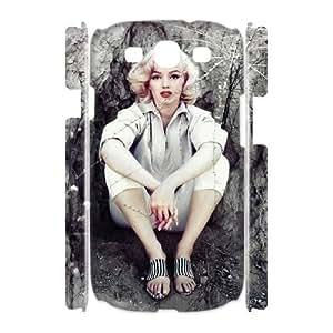 C-EUR Marilyn Monroe Customized Hard 3D Case For Samsung Galaxy S3 I9300