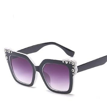 ZLULU Gafas De Sol Señoras Diamante Cristal Rosa Gafas De ...