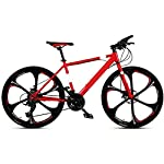 51YeMzUldeL. SS150 ZXL Mountain Bike/Biciclette per Adulti, Ruote 24/26 Pollici, 21/24/27/27/30 velocità Uomo Hardtail Freno Mountain Bike…