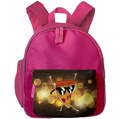 A Pizza With Sunglasses Students Book Bag Children Schoolbags Backpacks For Teens Boys - Sunglasses Printed No Minimum