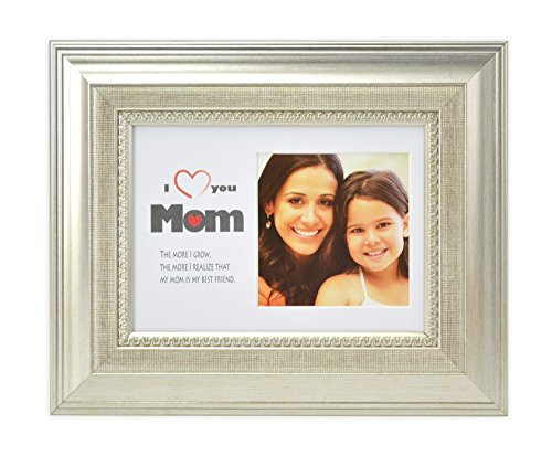 Golden State Art I Love Mom Frame Collection, 5x7 Horizontal