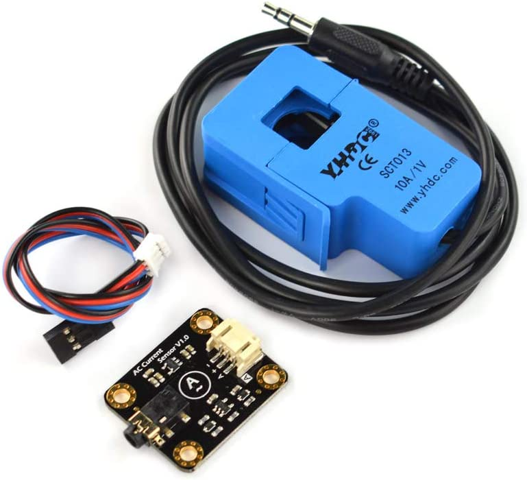 - AC Current Signal Conversion Module and Open Type AC Transformer Probe Included 5A Gravity: Analog AC Current Sensor Non-contact Measurement