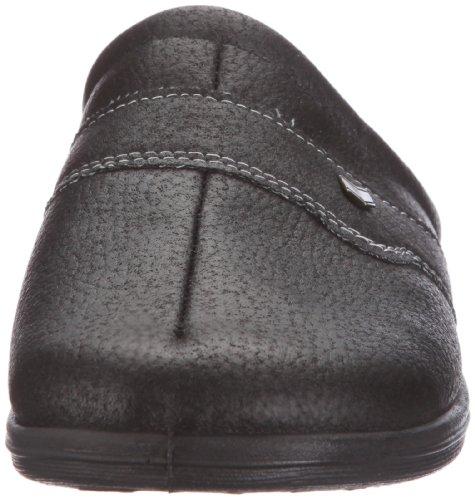Fischer Herren Pantoffeln Schwarz (222 schwarz)