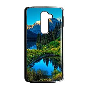 HDR Mountains Lake LG G2 Cell Phone Case Black DIY TOY xxy002_891398