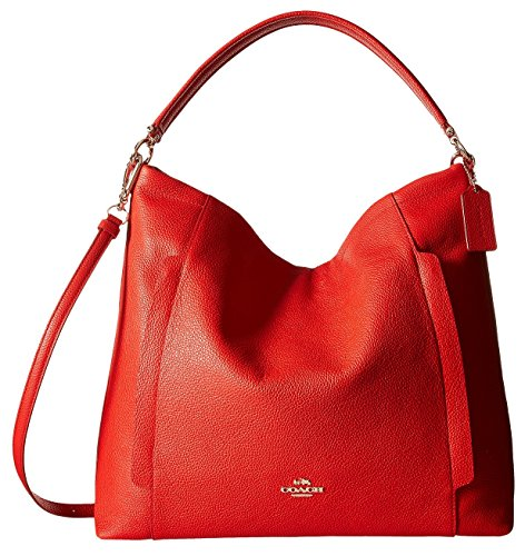 Red Leather Hobo Style