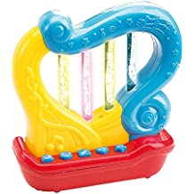 First Harp. Battery operated Music with features for learning and entertainment for your baby and toddler. Portable small size.