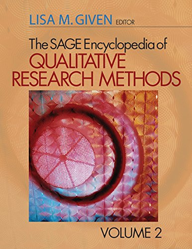 The SAGE Encyclopedia of Qualitative Research Methods Pdf