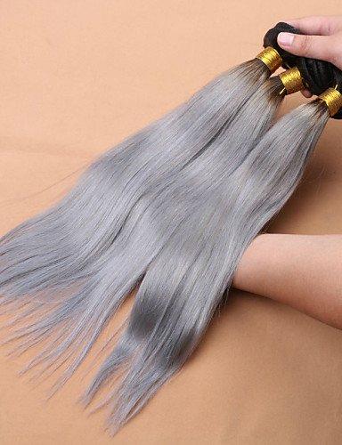 De Gris 3 Humaine 7a Vierge 16 Cheveux Argent 18 14 Faisceaux Ombre Cher Jff Pas Slove 1b Malaisien Raides Xq7qW0